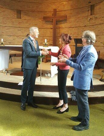 Koninklijke onderscheiding voor Liesbeth van Dijk
