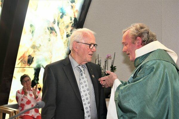 Diamanten Jubilaris Leo van der Helm,