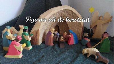 Figuren uit de Kerststal