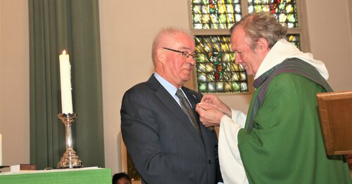 Pauselijke onderscheiding bij 90 jaar St. Augustinusparochie